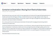 CoreOS舍弃自家调度工具Fleet,将重心转移至Kubernetes_Kubernetes中文社区
