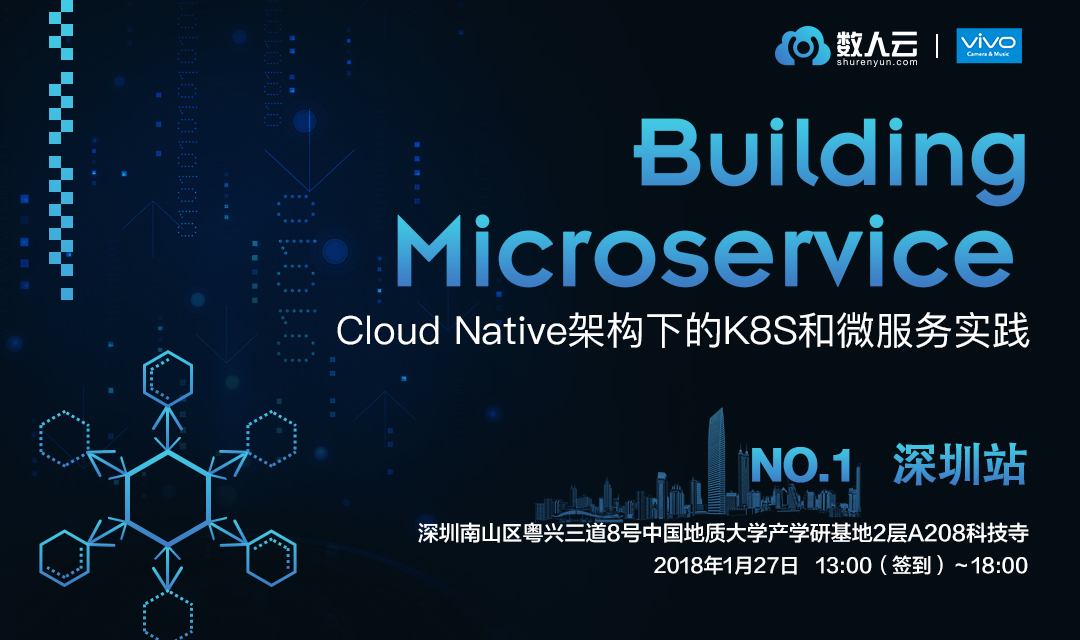 数人云Meetup | Building Microservice NO.1 深圳:Cloud Native架构下的K8S和微服务实践_Kubernetes中文社区