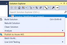 微软推出Visual Studio Kubernetes工具包,.NET网页应用也能整合Kubernetes_Kubernetes中文社区