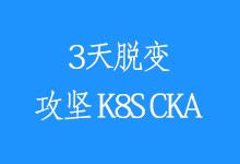 三天蜕变,攻坚 CKA 集训营「8.3-8.5 北京站」_Kubernetes中文社区