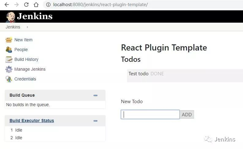 React Plugin Template,让你可以使用 React 来编写 Jenkins 插件_Kubernetes中文社区